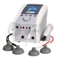 NU-TEK 2-CHANNEL COMBINATION ULTRASOUND, INTERFERENTIAL & VACUUM