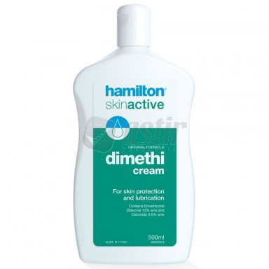 HAMILTON DIMETHICREAM / 500g PUMP PACK