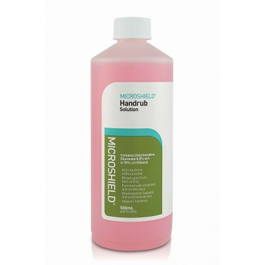 MICROSHIELD WATERLESS HANDRUB / 500ml Bottle